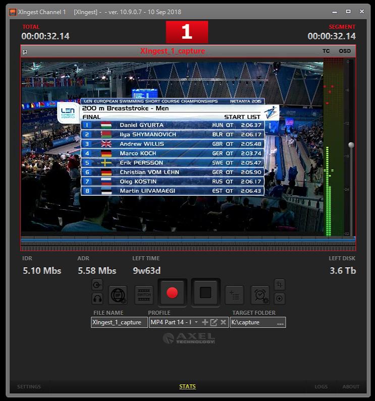 Chaîne d'automatisation TV In a Box XTV Suite AxelTEch