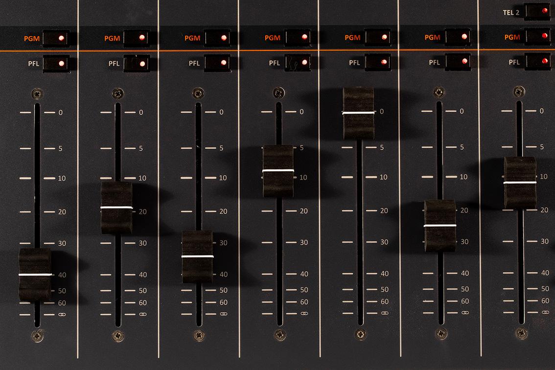 Mélangeur radio analogique Oxygen 3 AxelTech