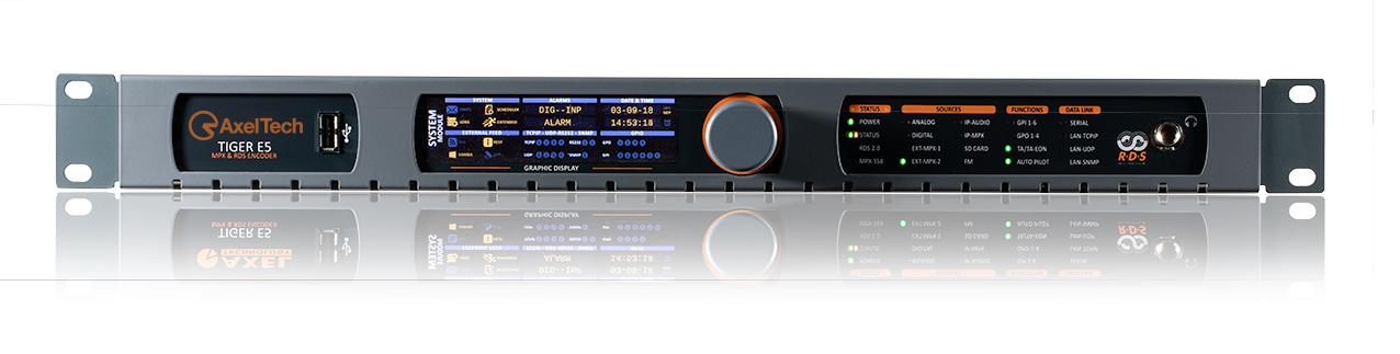 Distribution FM Contrôle et surveillance du réseau Tiger E5 AxelTech