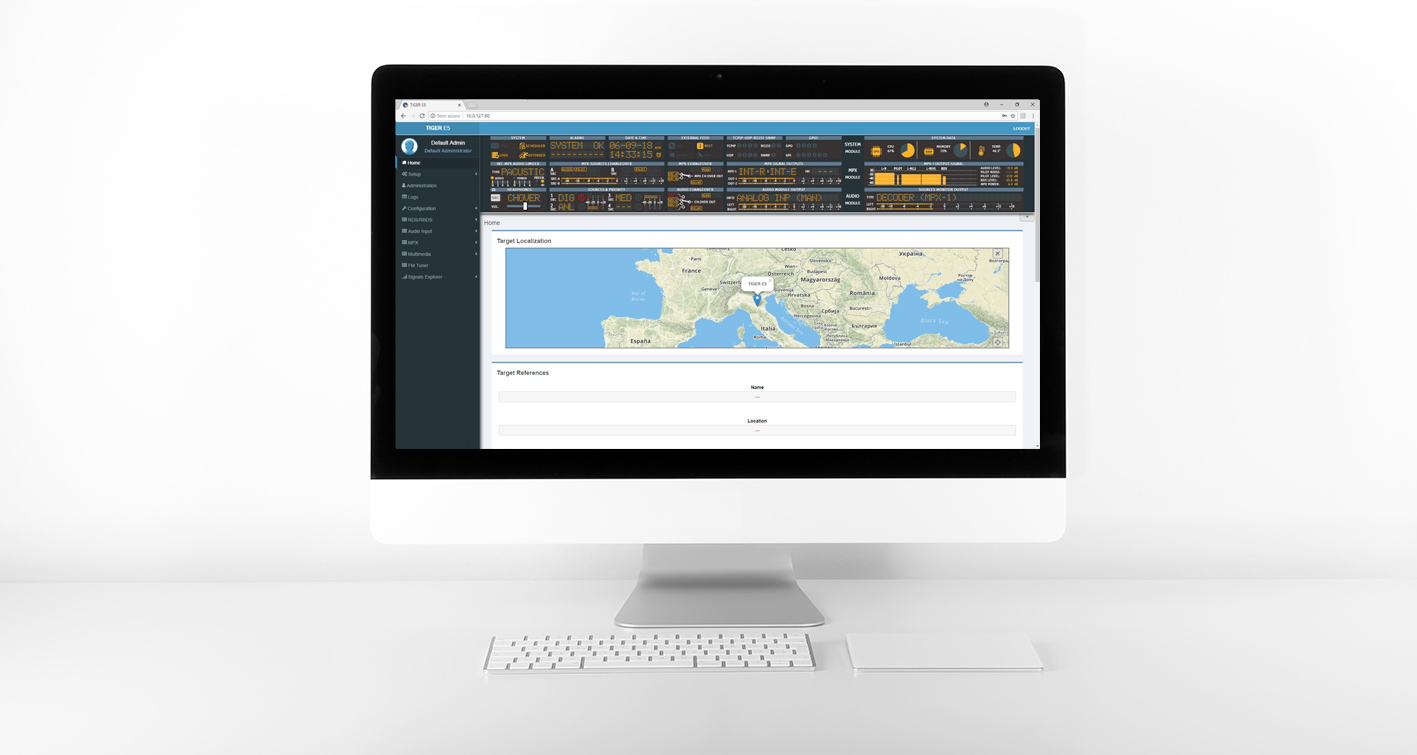 FM distribution Network Control & Monitoring Tiger AxelTech