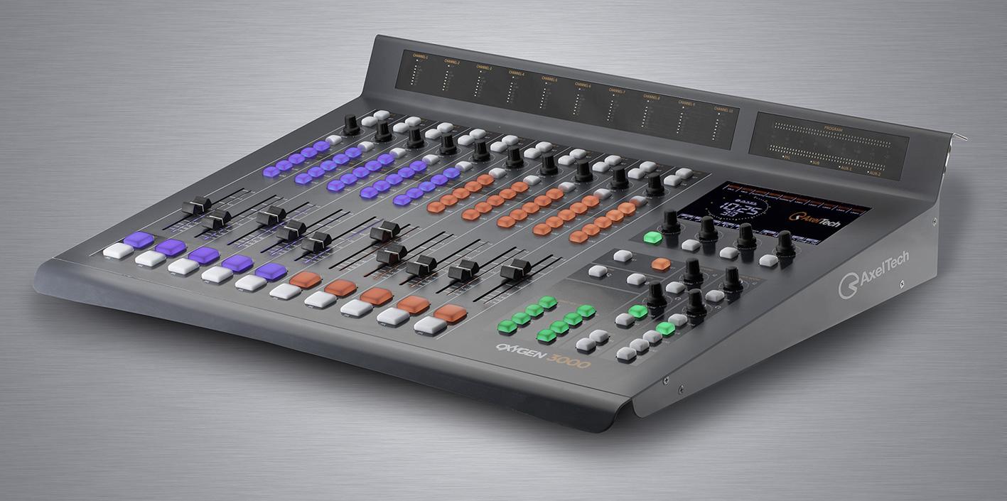 Console Radio Diffusion Oxygène 3000 AxelTech