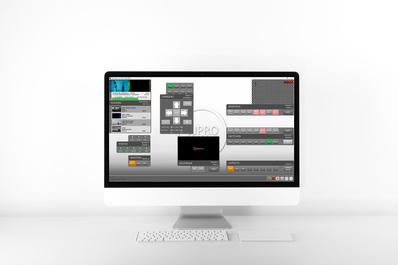Visual Web Radio VJ Pro AxelTech